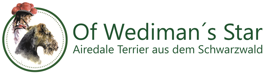 Airedale Of Wediman's Star logo